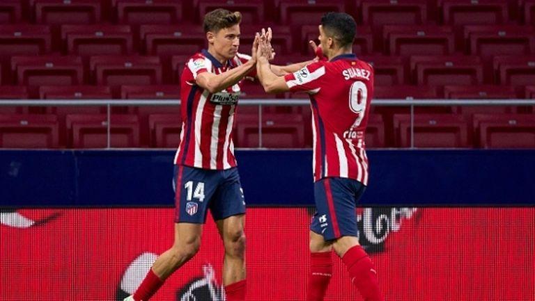 Йоренте и Суарес пратиха Атлетико на 6 точки пред Барса (видео)