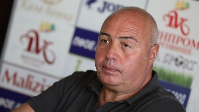 Грудев: Дано мачът с Локомотив не влезе в серията опорочени