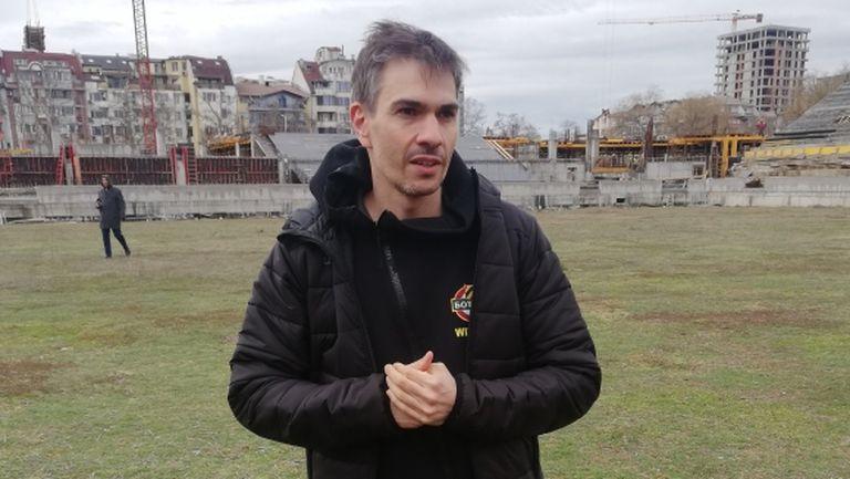 Новият директор в Ботев: Работим да стабилизираме клуба икономически
