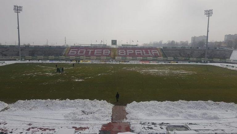 Теренът във Враца е готов да посрещне Левски