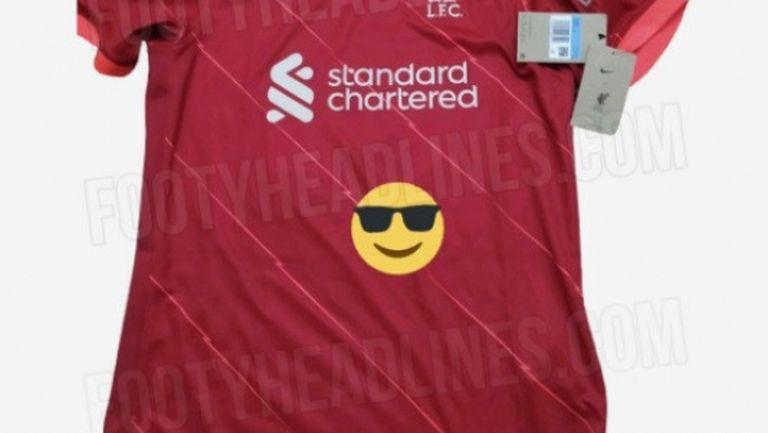 Изтекоха кадри на новите екипи на Ливърпул