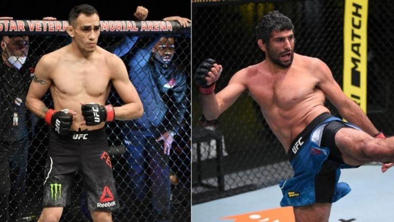 Тони Фъргюсън срещу Бенейл Дариуш на UFC 262
