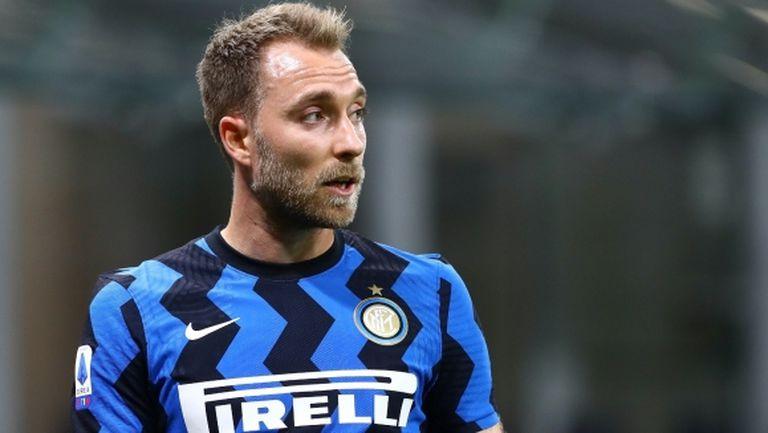 Интер няма да рискува Ериксен срещу Торино