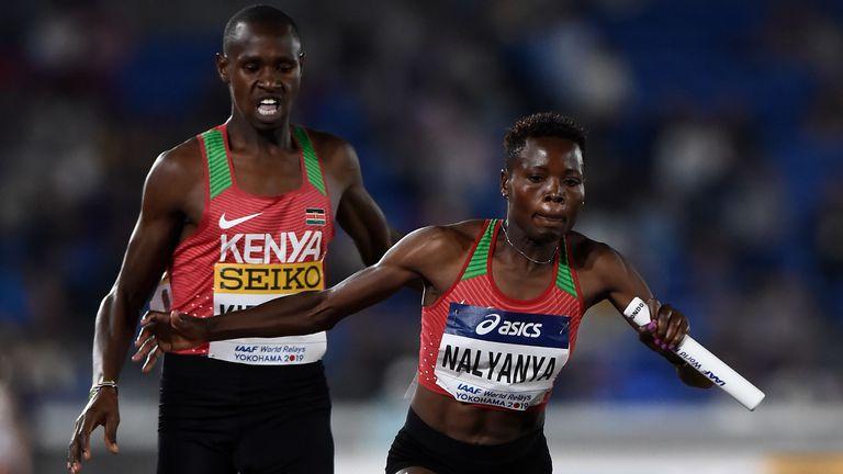 Ясен е и отборът на Кения за Световното за щафети