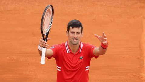 Джокович започна с победа участието си в Монте Карло