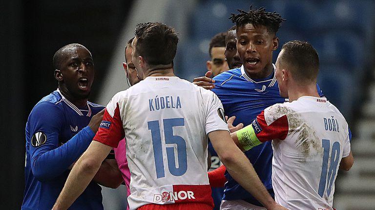 Защитник на Славия (Прага) бе наказан за 10 мача