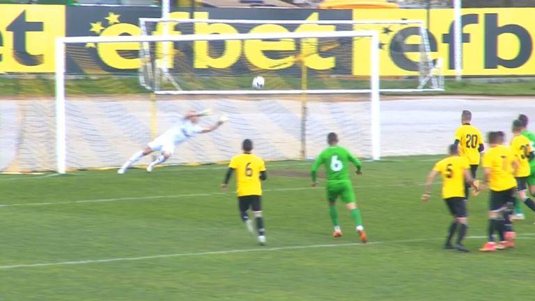 "Карачанаков изравни в последните минути за ""орлетата"""