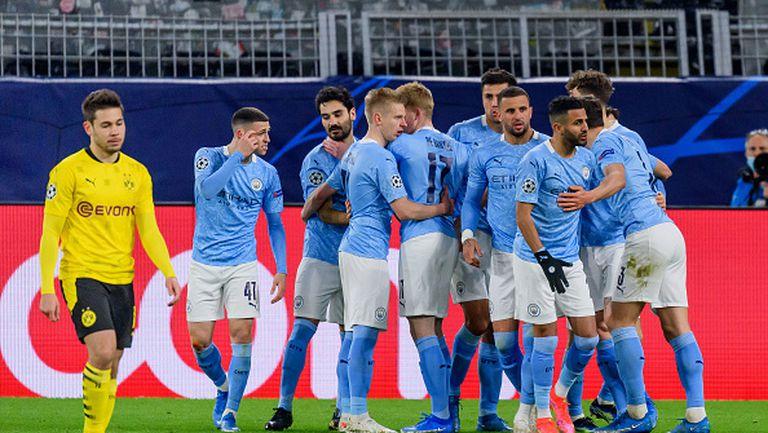 Борусия Дортмунд - Манчестър Сити 1:2
