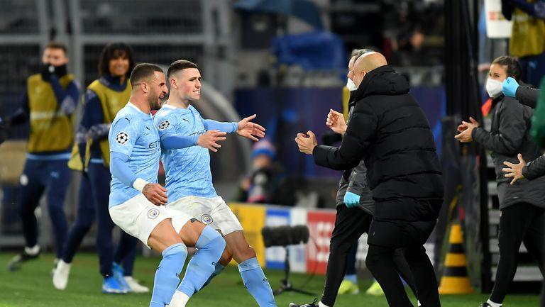 Манчестър Сити отново подчини Борусия (Дортмунд) и преодоля проклятието на 1/4-финалите (видео)