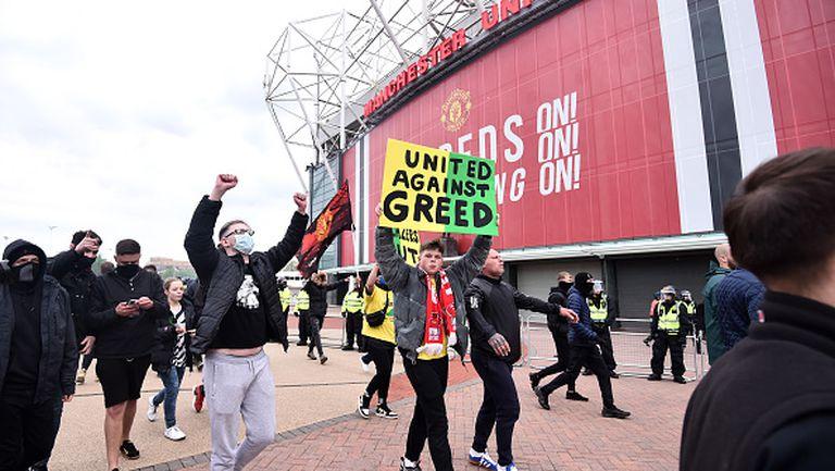 Феновете на Юнайтед с нов протест срещу собствениците