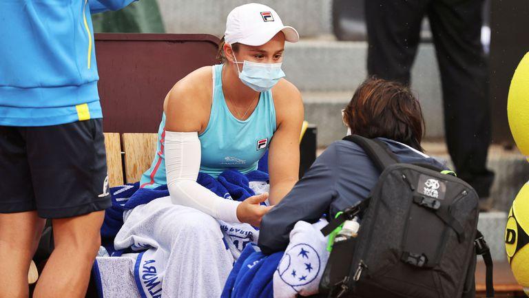 Ашли Барти напусна турнира в Рим заради контузия в дясната ръка