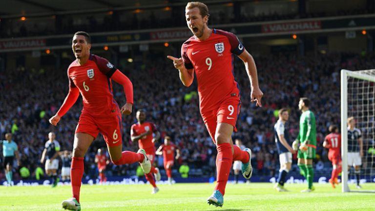 Хари Кейн спаси Англия в 93-тата минута и лиши Шотландия от мечтаната победа (видео)