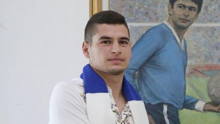 Иван Горанов: За мен е чест да съм в Левски