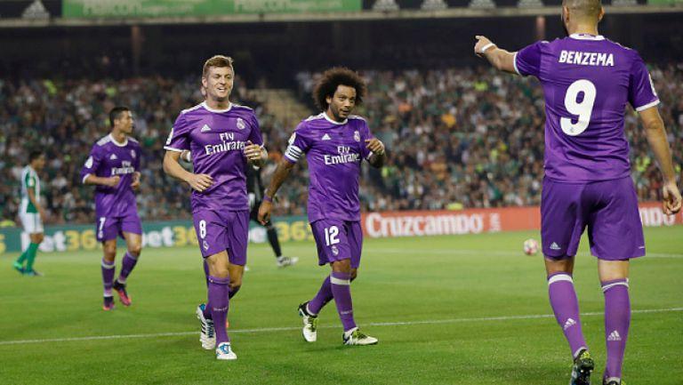 Бетис - Реал (Мадрид) 1:6