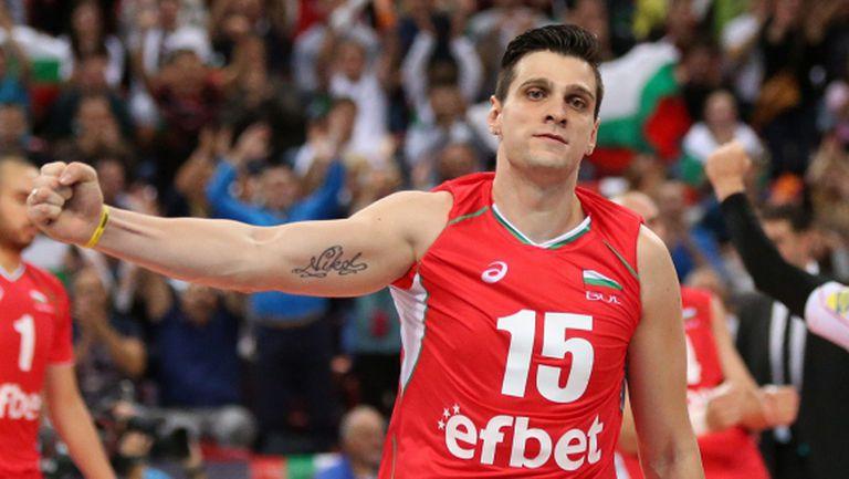 Тодор Алексиев - волейболист №1 на България за 2015 година