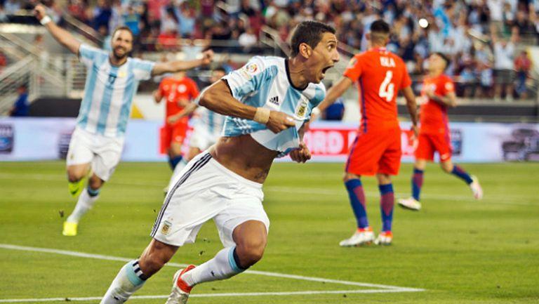 "Летящ старт за Аржентина, ""гаучосите"" надвиха шампиона Чили (видео)"