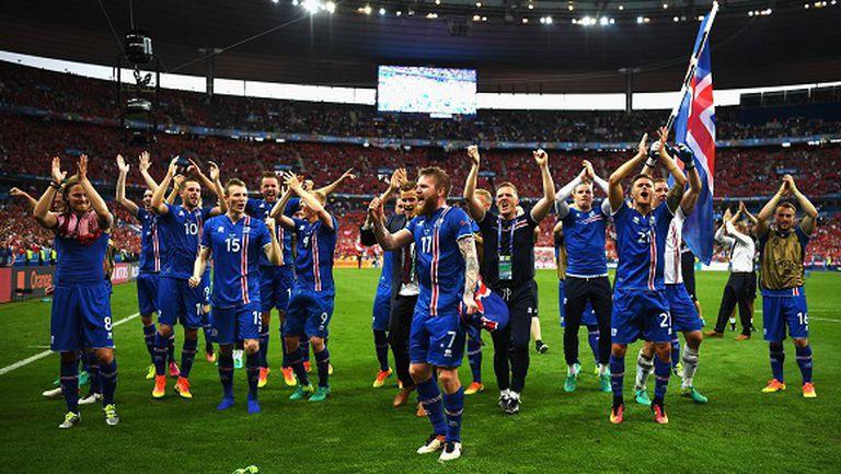 Награждават исландските футболисти с най-високото държавно отличие