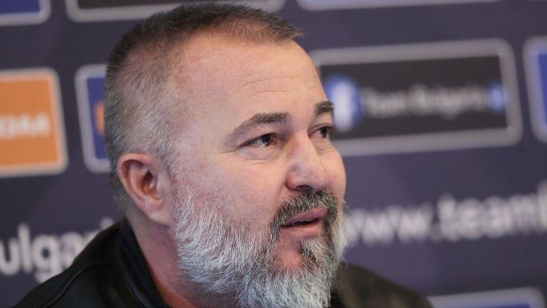 Ясен Петров: Утре публикувам списъка с националите, ще има много дискусии