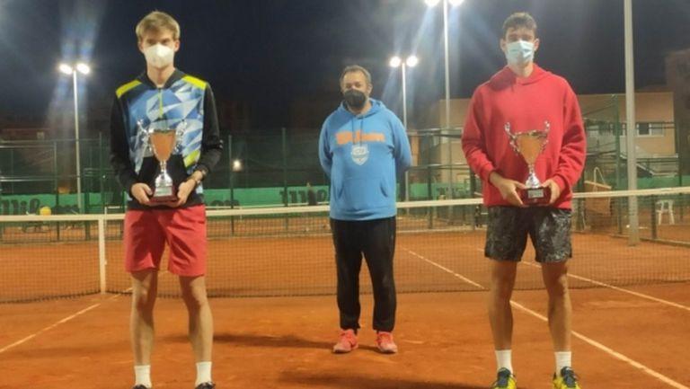 Пьотр Нестеров и Динко Динев завършиха на второ място по двойки на турнир от ITF
