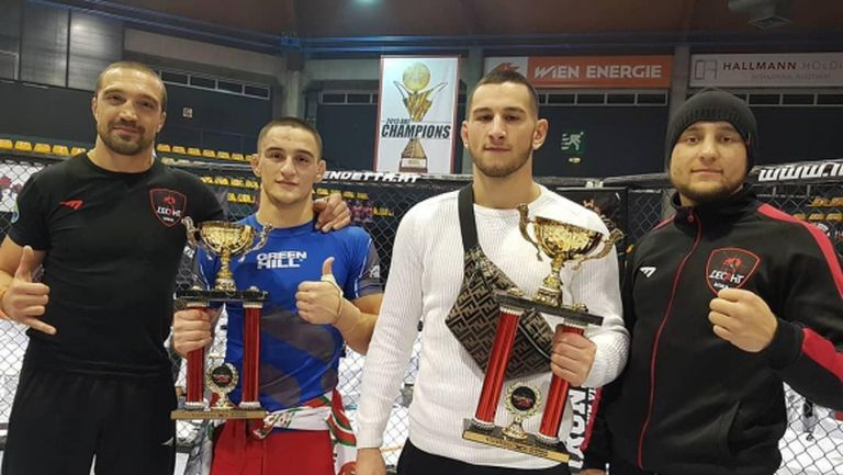 Николай Николов подписа с престижния ММА турнир BRAVE CF