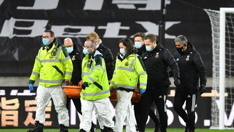 Ужасяваща контузия за Руи Патрисио в мача с Ливърпул