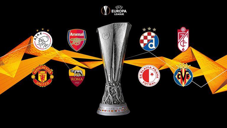 Ясни са полуфиналистите в Лига Европа (резултати + видео)