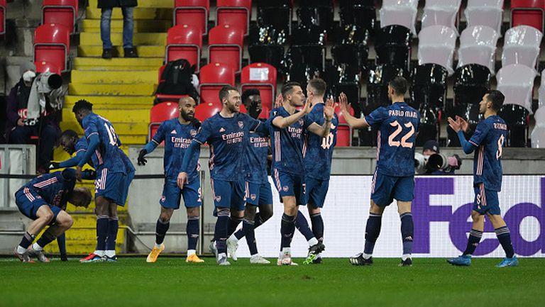 Славия Прага - Арсенал 0:4