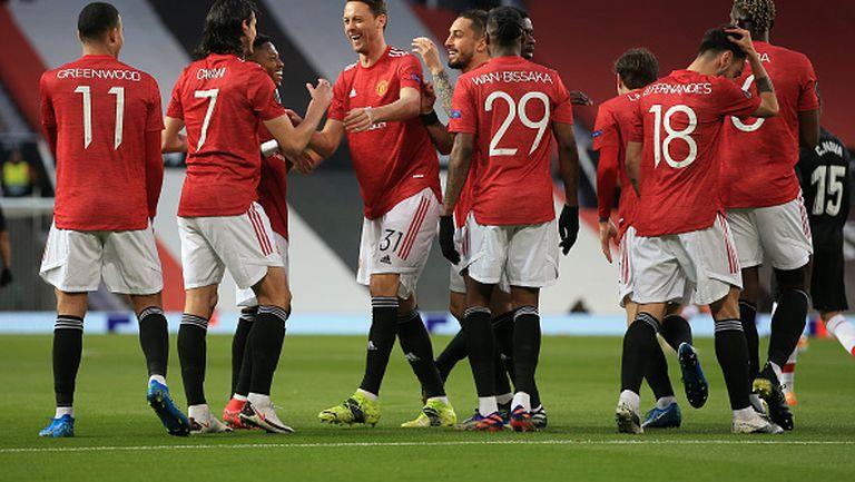 Манчестър Юнайтед - Гранада 2:0