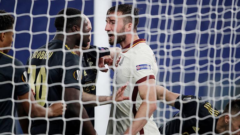 Бробей откри за Аякс срещу Рома в началото на второто полувреме