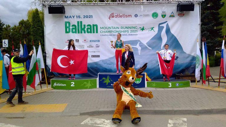 Ясна Петрова е балканска шампионка по планинско бягане, още 2 медала за България