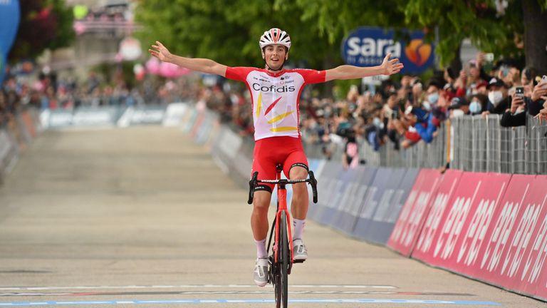 Французин спечели осмия етап на Обиколката на Италия