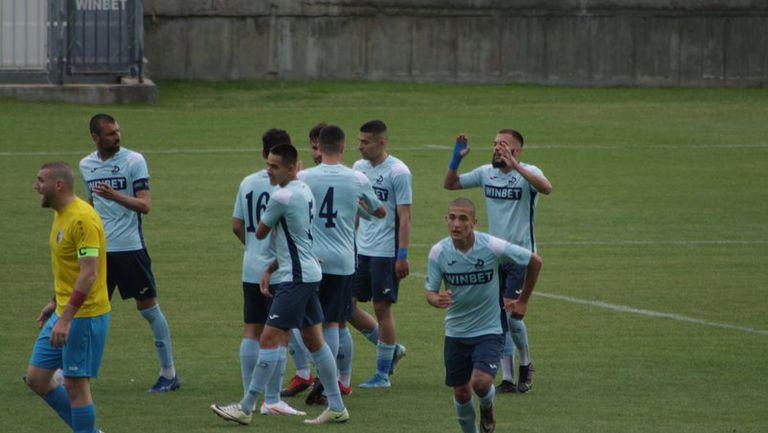 Дунав Русе с нов успех след 2:1 срещу Шумен