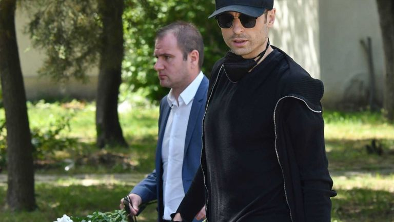 Бербатов, Пената и куп червени легенди се простиха с Борис Гаганелов