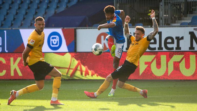 Холщайн Кийл - Динамо (Дрезден) 2:0