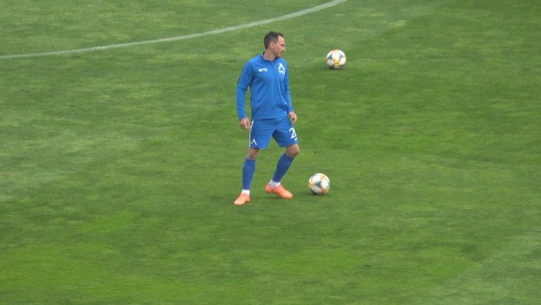 Миланов се готви за последния мач в своята кариера
