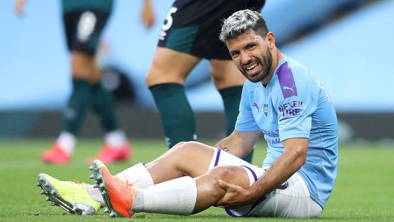 Серхио Агуеро може да пропусне остатъка от сезона