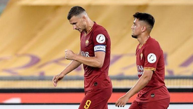 Джеко измъкна Рома срещу Сампдория