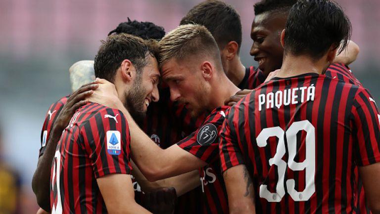 Милан спечели дербито с Рома