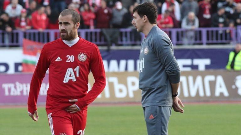 Стана ясно защо Тиаго бе изваден от групата на ЦСКА-София