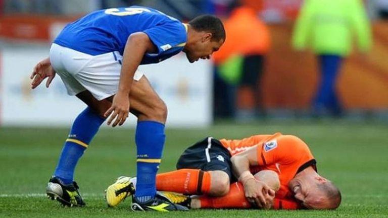 Мело: Трансферът ми в Реал Мадрид пропадна заради настъпването ми срещу Робен