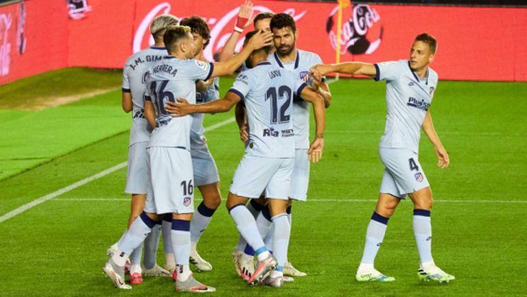 Атлетико Мадрид се развихри с 5 гола и се завърна в Топ 4