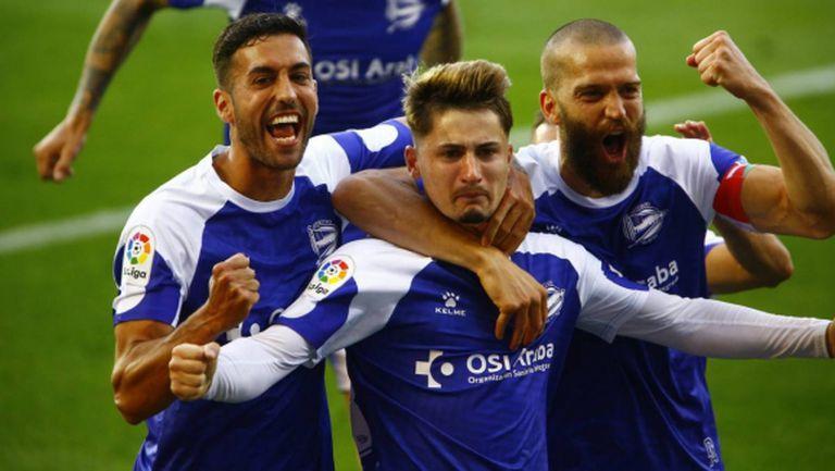 Реал Сосиедад с нова грешка в битката за ШЛ (видео)