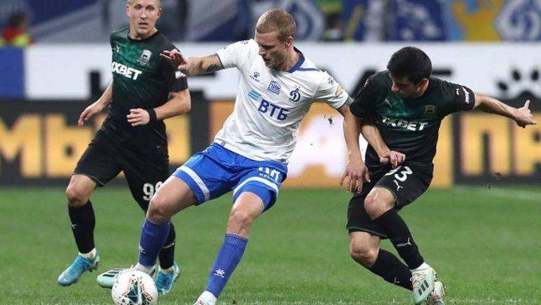 Трима футболисти на Динамо (Москва) с положителни проби за коронавирус