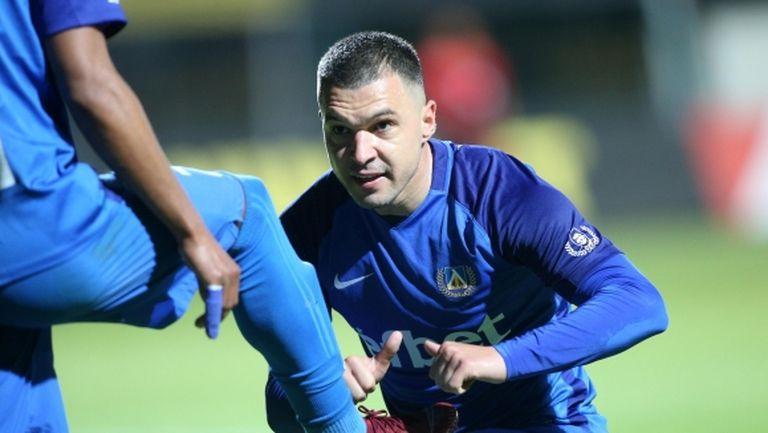 Божинов с много силни думи към Миланов: За мен беше чест да ми бъдеш капитан, обичам те! (видео)