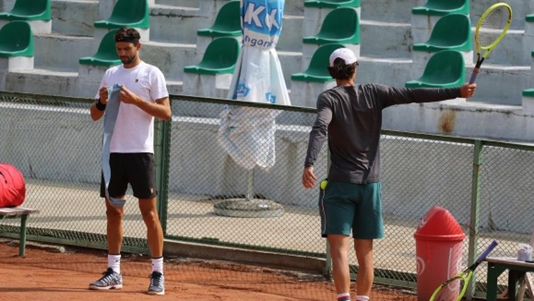 Лекарят на хърватските тенисисти: Чух се с Григор, но нямаше симптоми