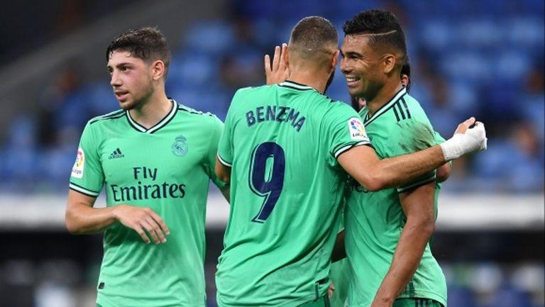 """Бензема """"в обувките на Гути"""" вдигна Реал Мадрид с 2 точки над Барса (видео + галерия)"""