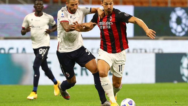 Милан - Болоня 2:0