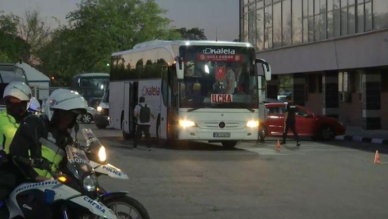 Отборът на ЦСКА-София пристигна на Лаута