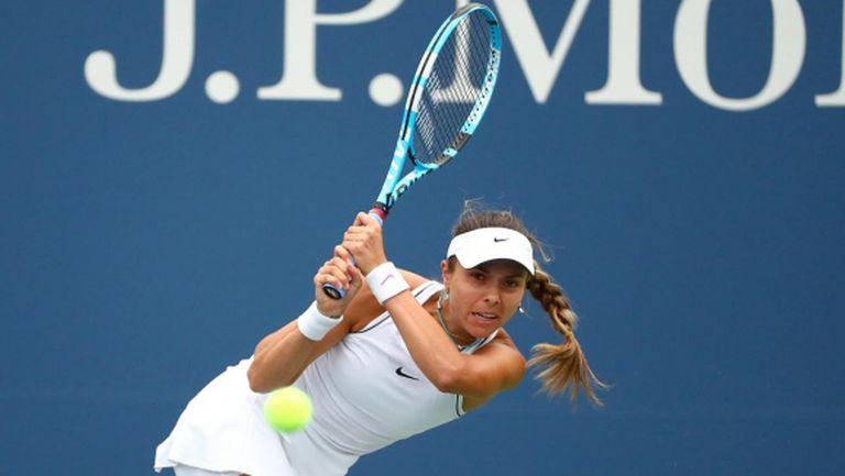 Виктория Томова се бори до последно, но отпадна от US Open