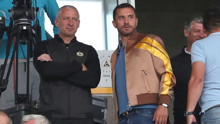 Кушев: Засега аз ще съм старши треньор на Славия